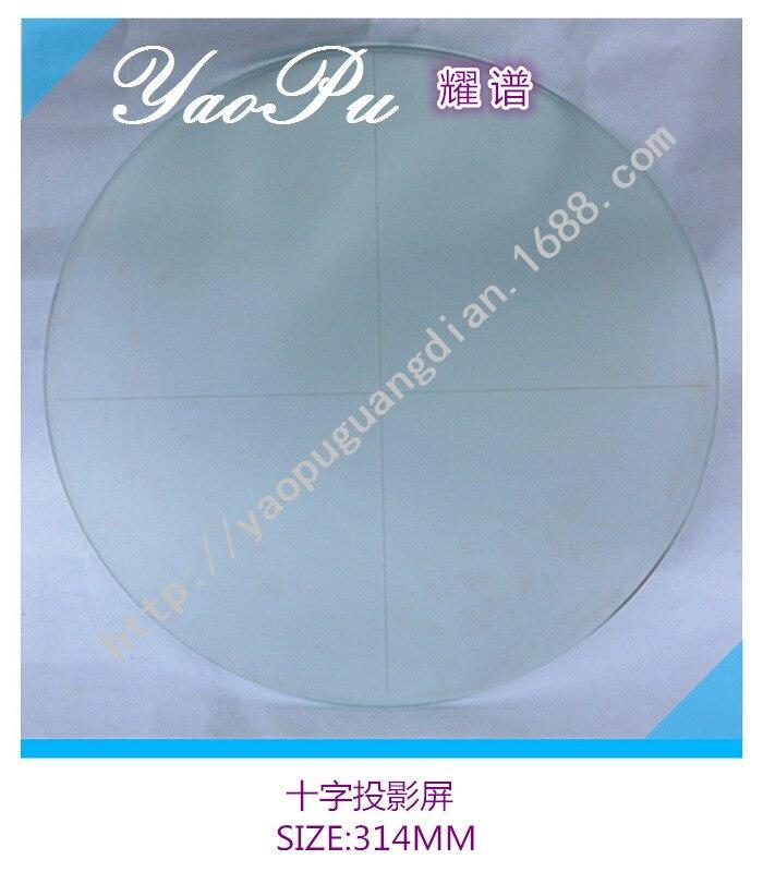 Banco ótico Projeção Linha Cruz De Vidro Plataforma De Carregamento De Vidro Janela De Vidro Óptico 312 MILÍMETROS de Diâmetro - 3