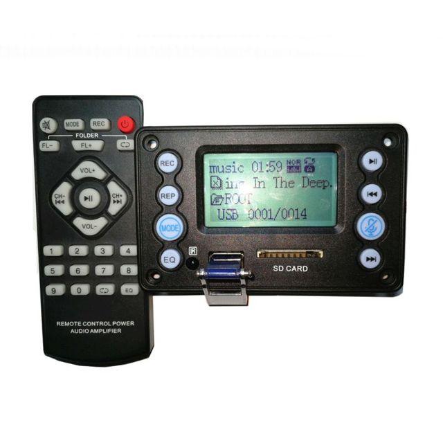DC 5V 4.0 מיקרופון הקלטת יציאת Bluetooth MP3 מפענח לוח מודול USB SD WAV WMA