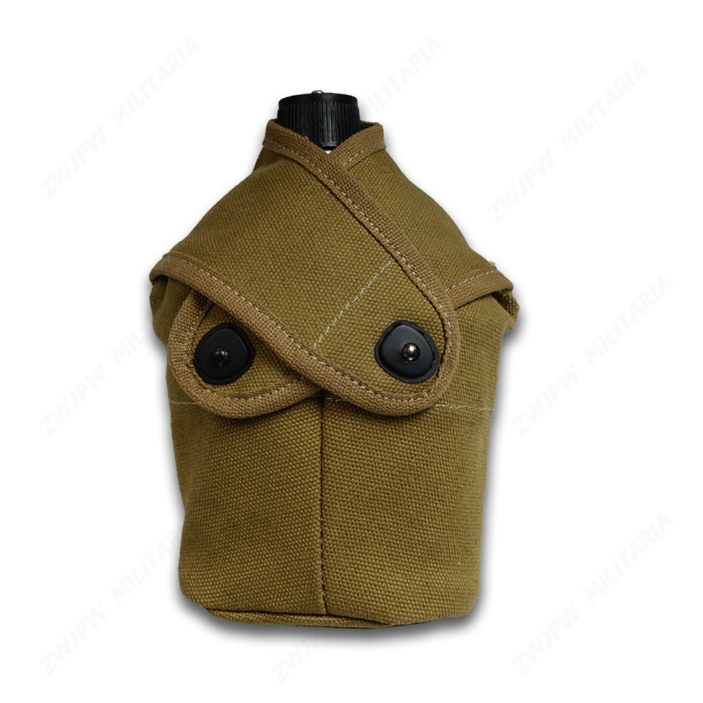 WW2 US Army MILITARY USMC CANTEEN 2ND PATTERN WITH COVER OUTDOOR KETTLE HIGH QUALITY REPLICA(China)