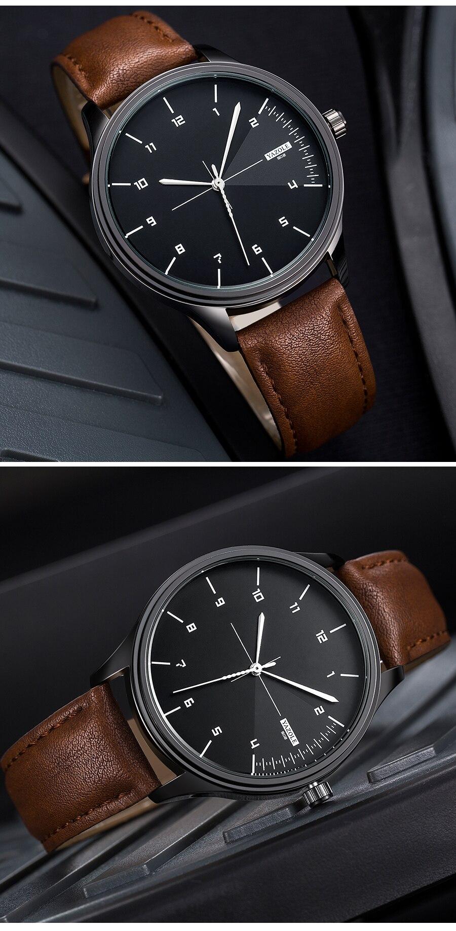 Ha2159dda14fa410d826cadb32df5e99ac Yazole Watch simple stylish business