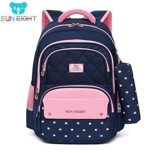 Image 1 - Children School Backpack School Bags For Teenage Girls Kids Backpack girl Childrens School Bag Orthopedic Back Mochila Escolar