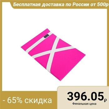 Protection dos gymnastique (coussin pour étirement) lycra, couleur fuchsia, 38x25 cm, (PL-9307)