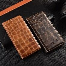 מגנט טבעי אמיתי עור עור Flip ארנק ספר טלפון מקרה כיסוי על עבור Realmi Realme 7i 7 פרו 5G realme7 7Pro אני 64/128 GB