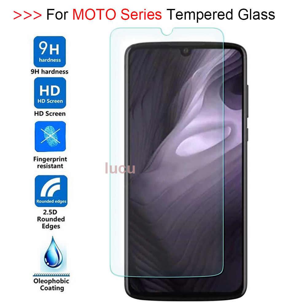 9H 2.5D temperli cam Motorola MOTO bir Pro görüş eylem Zoom güç Z4 gücü oyun P30 P40 P50 ekran koruyucu Film cam