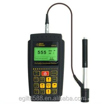 Hurtownia AR936 przenośny inteligentny czujnik Leeb twardościomierz tanie i dobre opinie LanYuXuan CN (pochodzenie) Guangdong China SMARTSENSOR 2 0KG Matrix LCD(128*64dot) Max500 6V(4*AA battery) USB 1 1