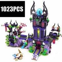 New Ragana's Magic Shadow Castle fit Elves fairy 41180 Compatible Legoinglys friend figures model building Blocks Bricks Toy kid
