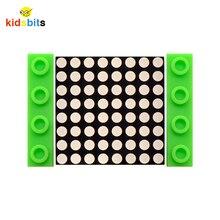Kidsbits Blöcke Codierung I2C 8x8 HT16K33 Dot Matrix Modul für Arduino/Unterstützung I2C protokoll