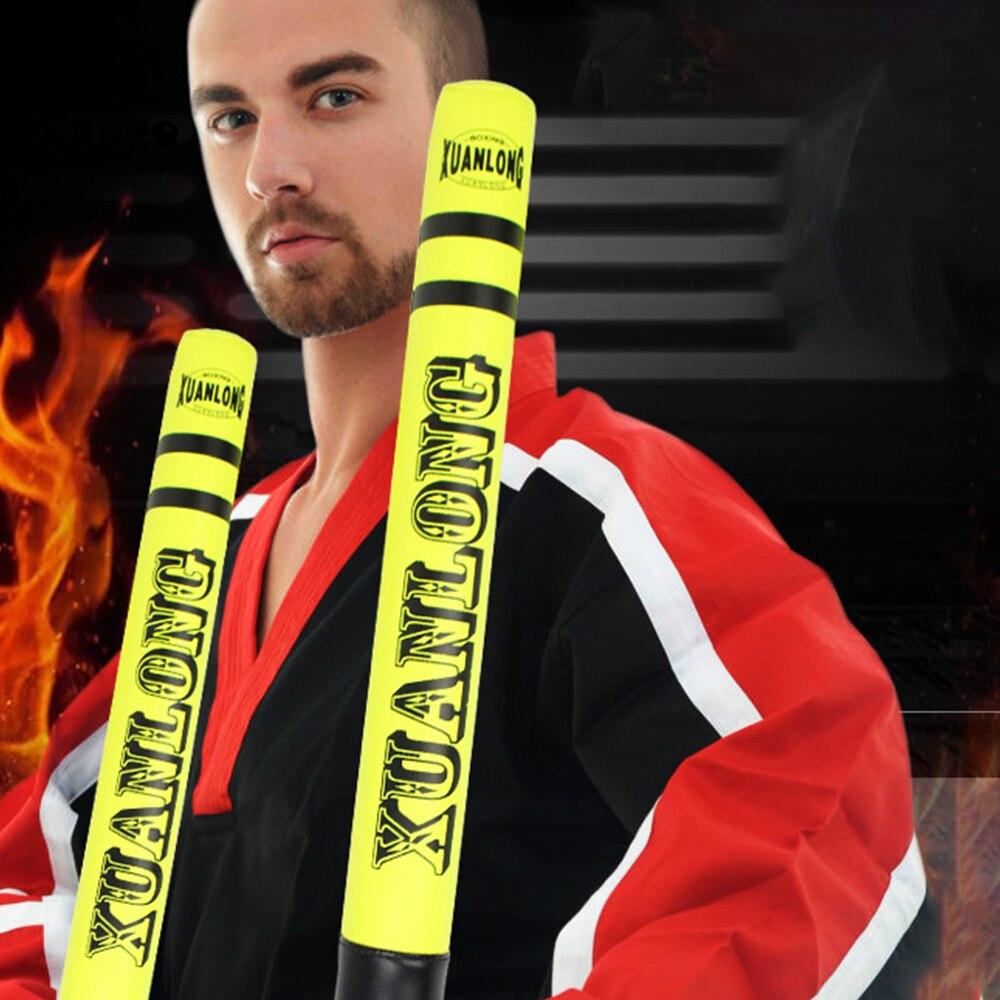 FDBRO 1Pair MMAmuay Thai KickBoxing Striking Sticks Boxing Training Sticks HighBomb Target  SandaTraining Grappling BodyBuilding