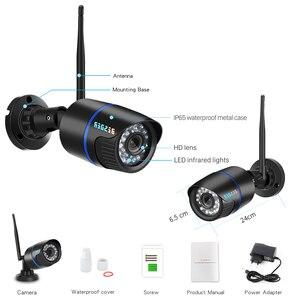 Image 5 - Kamera IP BESDER1080P Wifi IR Night Vision karta SD kamera bezprzewodowa 2MP Audio Record Bullet Onvif CCTV nadzór wideo na zewnątrz