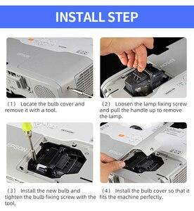 Image 5 - HAPPYBATE ampoule de projecteur de remplacement pour 5811117901 SVV pour VIVITEK D803W 3D H1185HD D910HD P VIP 240/0.8 E20.8
