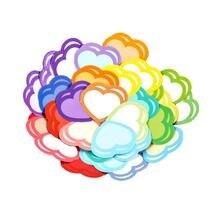 20 упаковок наклейки фруктовая коробка любовь сердца руководство