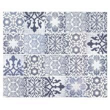 Azulejos Retro pegatinas de pared para azulejo para cocina y baño estilo árabe Vintage cuadrado autoadhesivo adhesivo Adhesivo resistente al agua de PVC