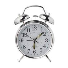 Ретро Настольная Механическая сигнализация светящиеся часы Ночной