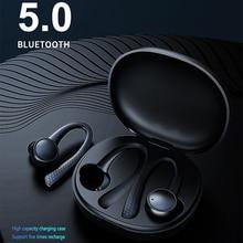 Bluetooth Headset Wireless Sports Headphones TWS Bluetooth 5.0 Earphones Ear Hook Running Stereo Earbuds With MIC Waterproof