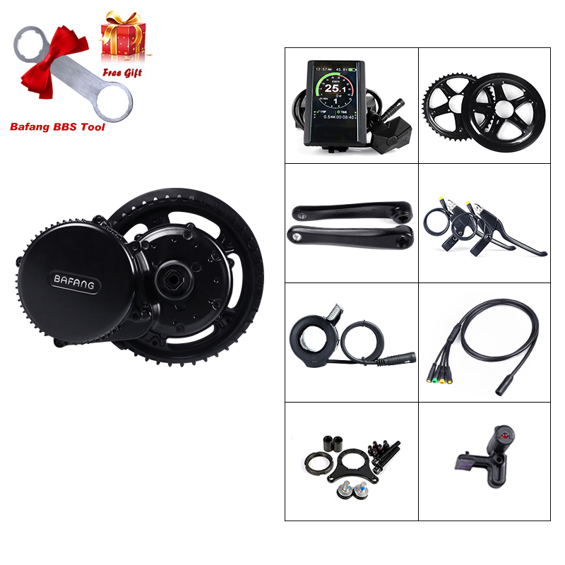 Bafang BBS02B 48V 750W Mid Drive Motor 8fun BBS02 Bicycle Electric eBike Conversion Kit Powerful Central e-Bike Engine Newest web page