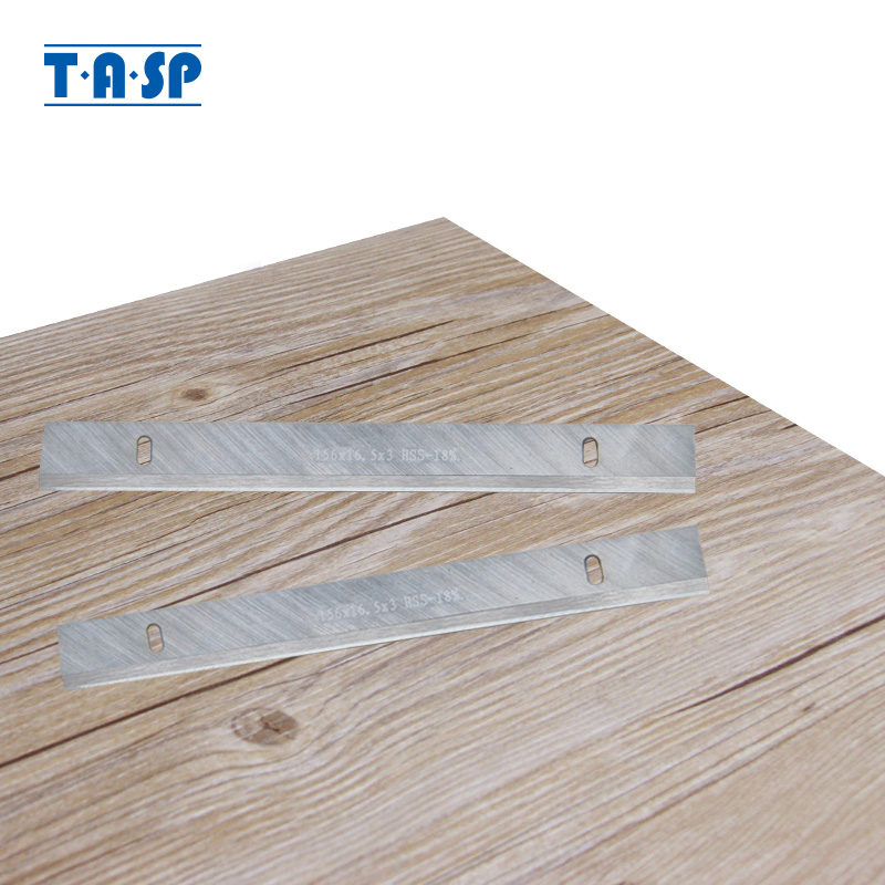 "TASP 6 ""HSS ضخامت برنامه ریز تیغه 156x16.3x3mm چاقو چسبان چوب برای لوازم جانبی ابزارهای نجاری"