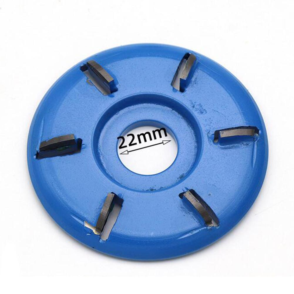 90mm Diameter 22mm Bore Three And Six Teeth Woodworking Turbo Tea Tray Digging Wood Carving Disc Tool Milling Cutter