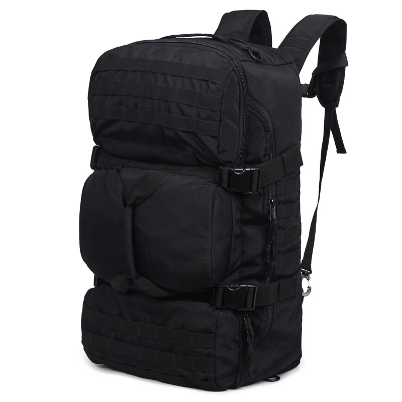 Military Tactics Backpack 60L Large Capacity Multifunction Men Backpacks Waterproof Nylon Shoulder Bag Rucksack Travel Backpack