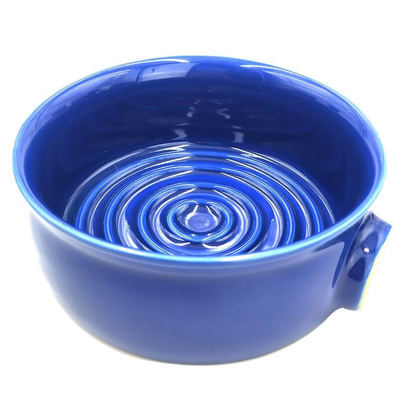 Image 5 - Dscosmetic ceramic blue Mens Shaving Mug Bowl Cup For Shave Brush and shaving soapShaving Brush   -