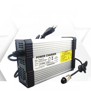 Image 5 - Yzpower 54.6v 4.5A 5A 5.5A 6A 6.5A 7A 7.5A 8Aリチウムリチウムイオンリポバッテリー充電器の出力dc入力 100 240v