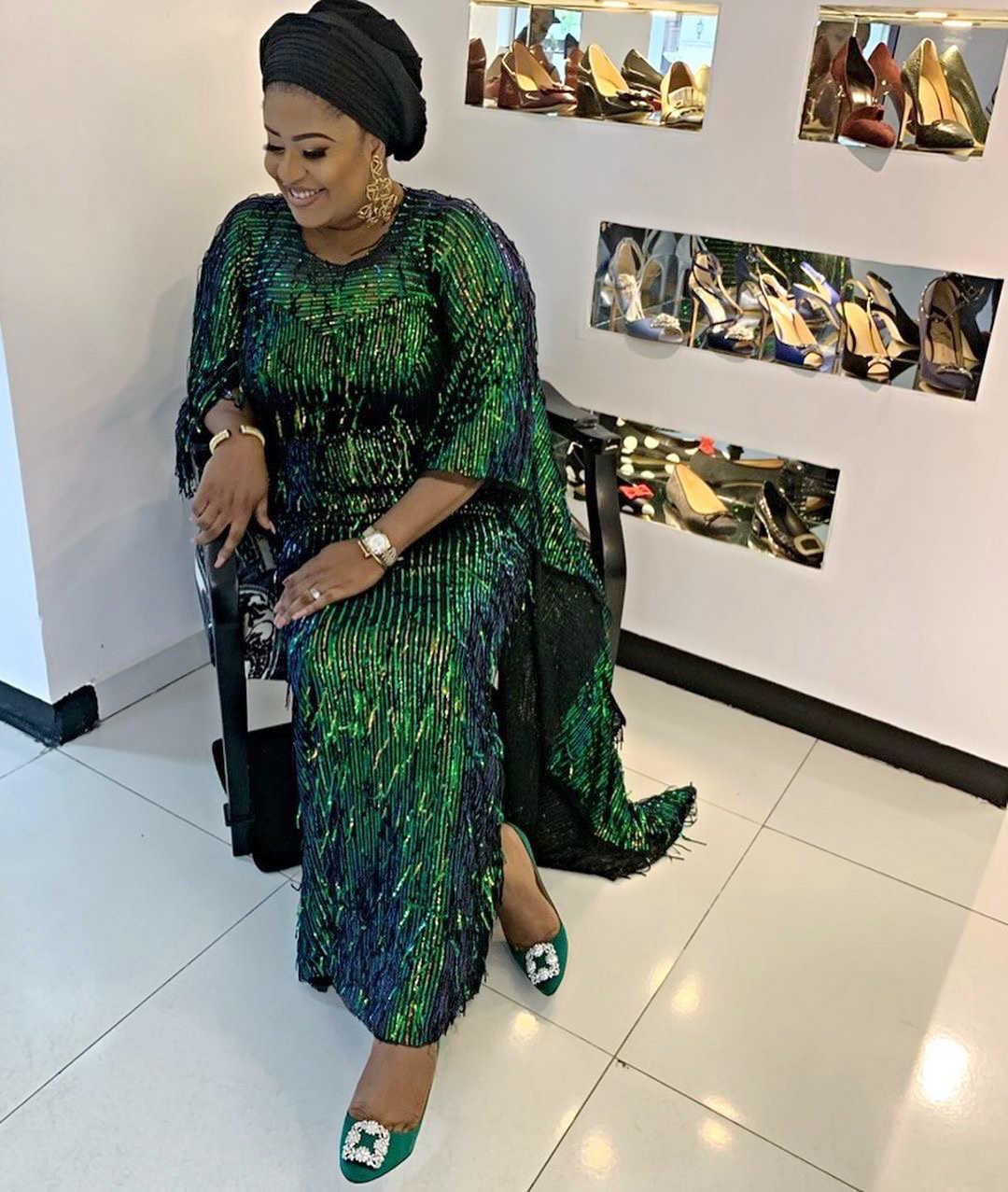 2019 Высокое качество африканская кружевная ткань золото, красная французская сетка вышивка Тюлевая кружевная ткань с блестками для нигерийские вечерние M1041