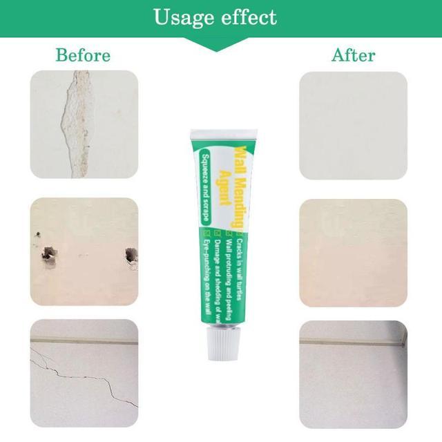 Środek do naprawy ścian krem do naprawy ścian farba lateksowa wodoodporna farba do ścian gipsowych ważna odporna na pleśń szczelina ścienna naprawa paznokci gorąca sprzedaż