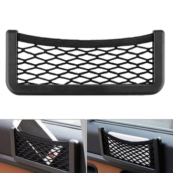 20*8cm Car Mesh Net Bag Car Organizer Universal for opel astra j volvo xc60 bmw e92 ford focus mk3 peugeot 406 vectra image