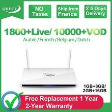 ボックス IPTV サブスクリプションオランダアラビアベルギーフランス 1
