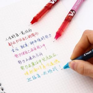 Image 4 - 12Pcs/lot Pilot BX V5 gel pens 0.5mm/0.7mm high quanlity Multicolor ink pens school & office stationery Writing supplies