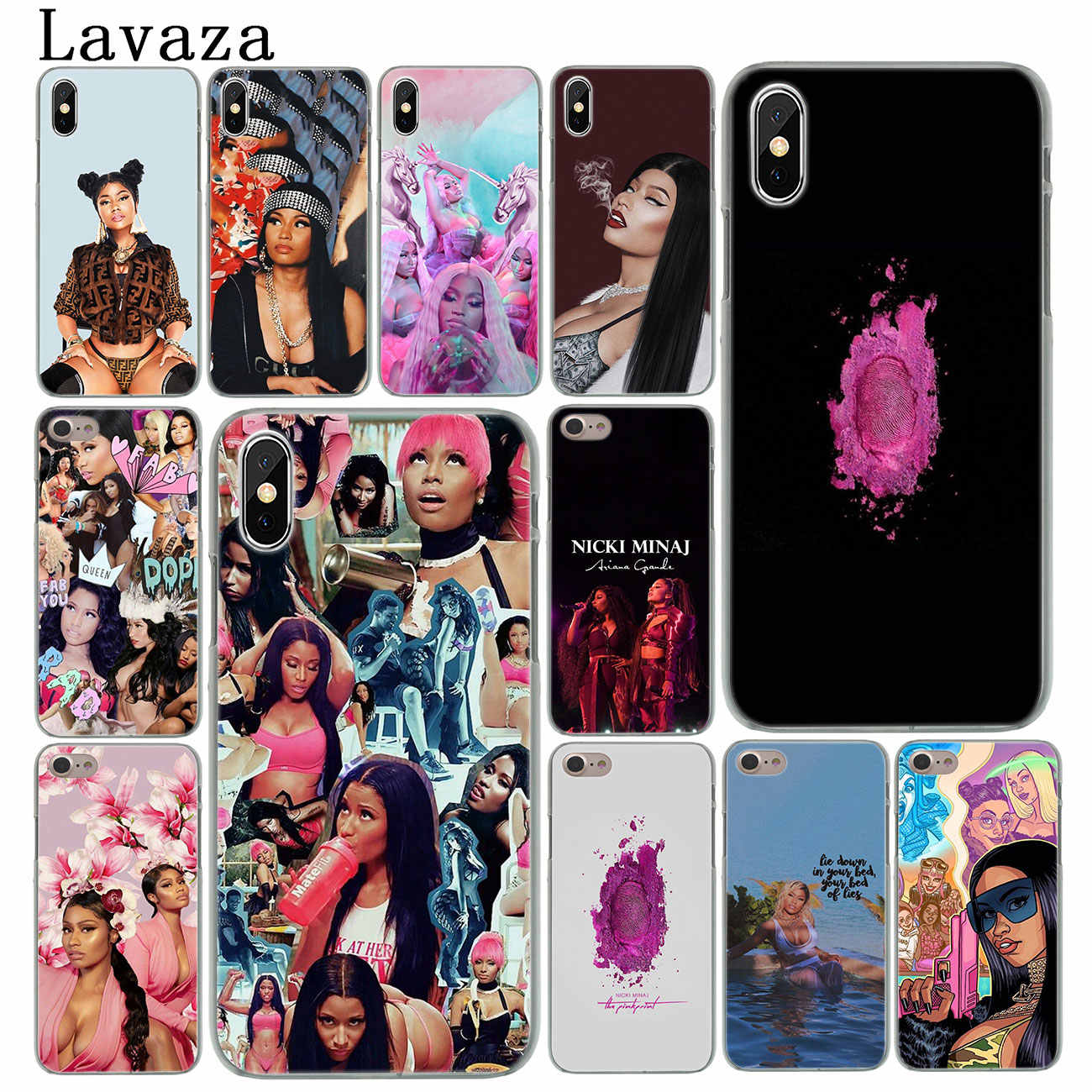 Lavaza Nicki Minaj Rapper Populaire Harde Telefoon Cover Case voor iPhone XR X 11 Pro XS Max 8 7 6 6S 5 5S SE 4S 4 10