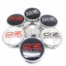 4pcs 62mm OZ Car Wheel Center Hub Cap For REIZ CROWN Highlander COROLLA Rim Badge Emblem styling Accessories