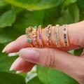 Женские регулируемые кольца с фианитом, кольца с бабочкой, сердечком и цветком, украшения для вечеринок, 2020