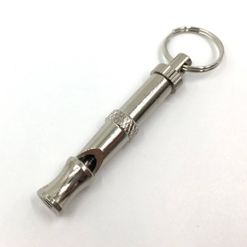 Puppy Pet Dog Whistle Ultrasonic Flute Stop Barking Ultrasonic Sound Repeller Cat Training Keychain Pet Taining Tool