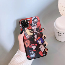 Naruto Akatsuki Gaara Pain Phone Case For iPhone 11