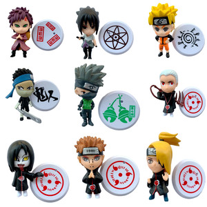 1 pcs Anime Naruto Action Figures Kakashi Sasuke Deidara Itachi Akatsuki Pain Ninja PVC Model Collection Statue Kid Gift Toy
