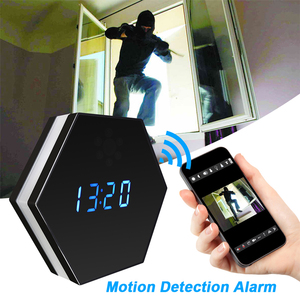 Image 4 - Hebeiros 2MP Batterij Wandklok IP WiFi Camera HD 1080P P2P Audio Nachtzicht Motion Detecion Smart Home CCTV monitor