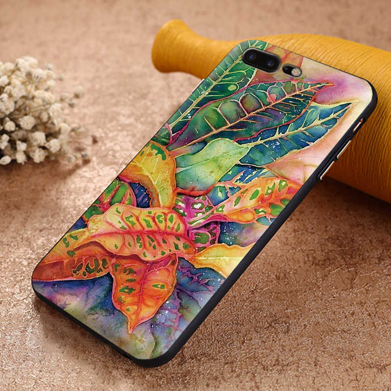 Tropical กล้วยกรณีสำหรับ Samsung S7 EDGE S8 S9 PLUS ซิลิโคนอ่อน S10 หมายเหตุ 8 9 M10 M20 m30 Coque Funda