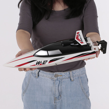 Toy Racing-Boat WL912-A RC Wltoys Motor Remote-Control High-Speed Capsize-Protection