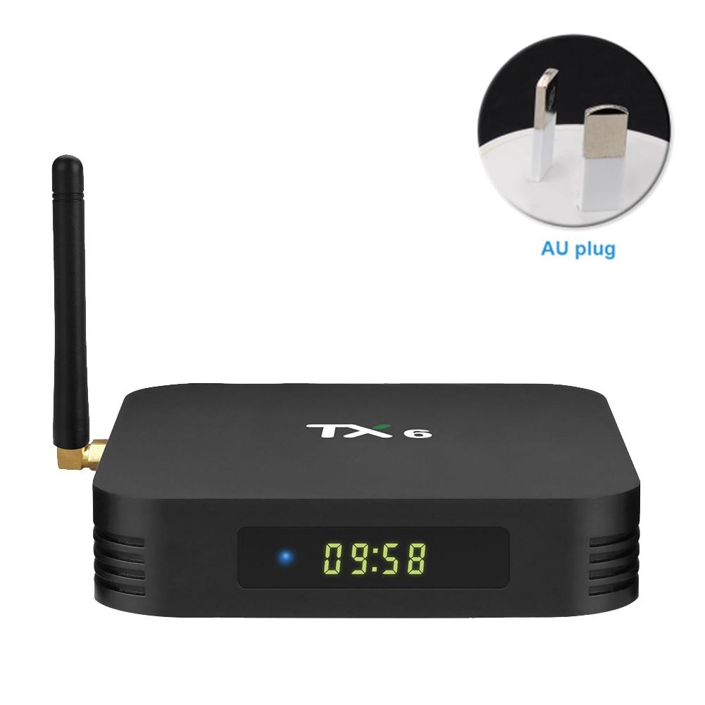 TX6 Home Smart haute définition facile à installer TV Box film avec télécommande lecteur réseau Stable Audio numérique Bluetooth