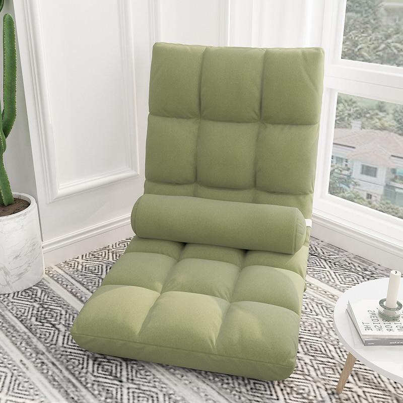 Lazy Sofa Tatami Bed Backrest Chair Girl Lovely Bedroom Single Bay Window Small Sofa Folding Chair