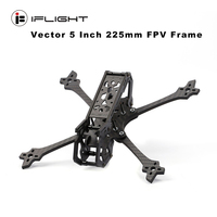 iFlight Vector 5 Inch 225mm FPV Frame RC Four axis Freestyle Rack 119.5g for RC Drone FPV Quadcopter Spare Parts Accessories