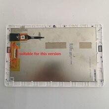 لشركة أيسر iconia واحد 10 B3 A40 K7JP A7001 B3 A40 شاشة LCD شاشة تعمل باللمس زجاج الاستشعار الجمعية مع الإطار خدش صغير