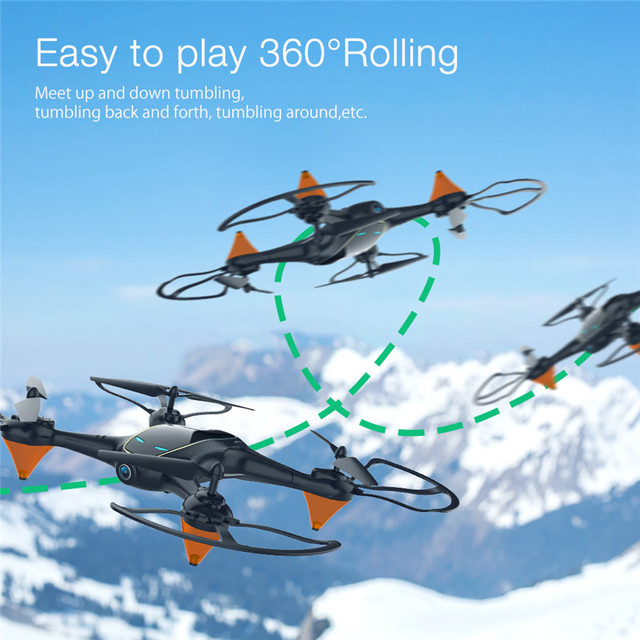 Eachine E38 WiFi FPV with 480P Camera 1Battery Video Altitude Hold Portable RC Drone Quadcopter Aircraft Toys 4