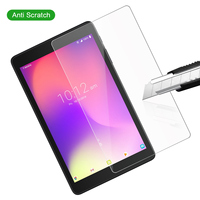 """screen film For Alcatel 3T 8"""" 9027W Alcatel T Mobile A30 8"""" 9024W 2019 Tablet Case EVA Shockproof Handle Protective Stand Cover+ Screen Film (2)"""