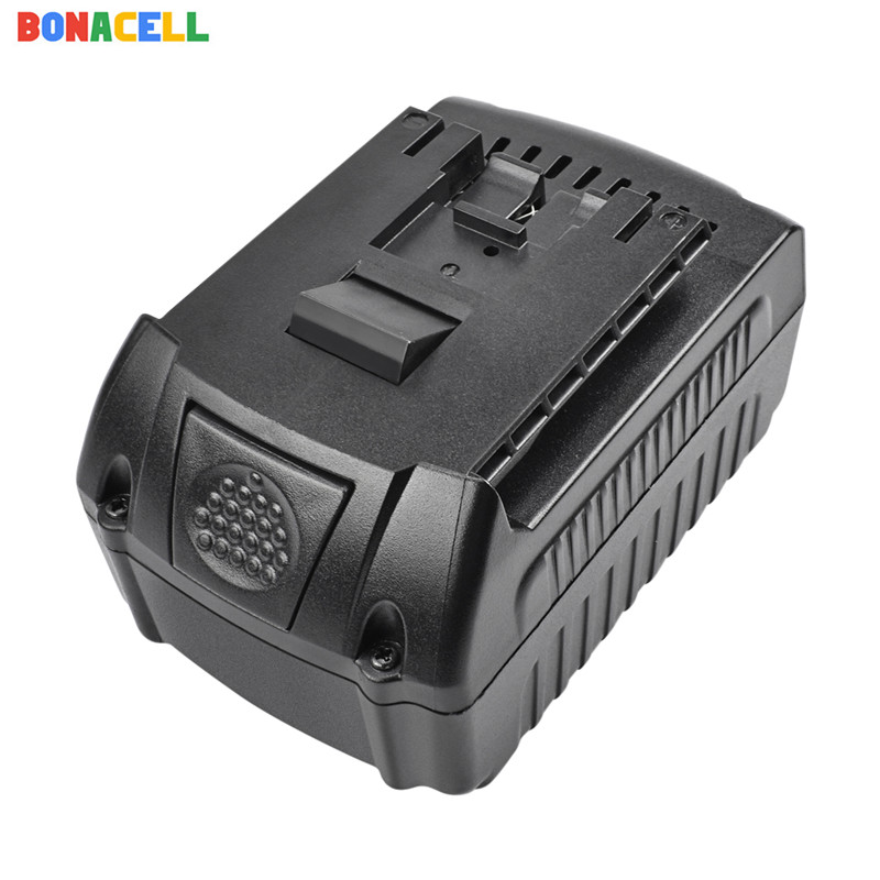 Bonacell 1PCs For <font><b>Bosch</b></font> <font><b>18V</b></font> 6000mAh Power Tools <font><b>Battery</b></font> Rechargeable <font><b>Batteries</b></font> Cordless for <font><b>Bosch</b></font> Drill BAT609 BAT618 3601H61S10 image