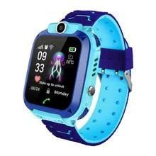 Anti-lost Kid Smart Watch Bracelet SOS Call Camera Waterproof Safe LBS Tracker Wrist for Children