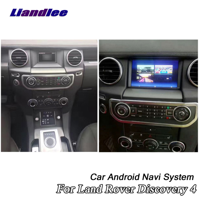 Araba multimedya DVD OYNATICI Land Rover Discovery 4 için LR4 L319 2009 ~ 2016 Android radyo Stereo ses Carplay GPS harita navigasyon