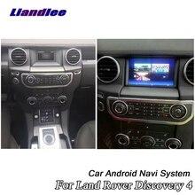 Samochodowe Multimedia odtwarzacz DVD dla Land Rover Discovery 4 LR4 L319 2009 ~ 2016 z systemem Android Radio Stereo Audio Carplay GPS nawigacja na mapie