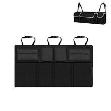 Adjustable Car Backseat Storage Bag Universal Large Capacity Oxford Organizer Holder Drink Bottle Storage for Cars Trunk