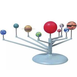 Kit de modelo planetario de nueve planetas del Sistema Solar, proyecto de ciencia astronómica DIY, regalo para niños, venta a todo el mundo, educación temprana para niños